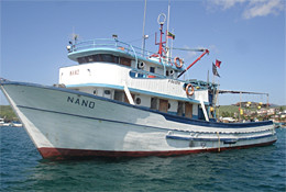 Illegal poaching vessels NANO (photo: Benjamin Ayala)