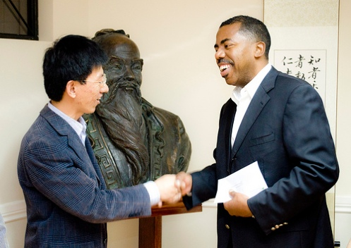 Agreement between the Confucius Institute and Andes Petroleum USFQ